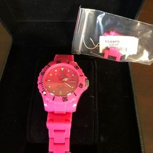 Hot Pink Toy Watch